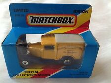 Matchbox Toy Model Car MB38 Ford Model A Van JAMES NEALE & SONS LTD Boxed
