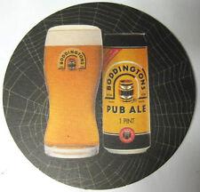 BODDINGTONS PUB ALE Beer COASTER, Mat, Manchester, UNITED KINGDOM 2004 issue