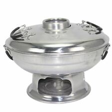 Tom Yum Thai Food SHABU Pot Hot Korea Party Soup Aluminium Herb Dish 22 Cm.