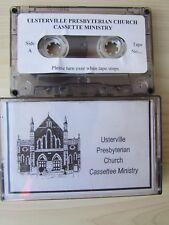 ULSTERVILLE PRESBYTERIAN CHURCH CASSETTE MINISTRY, TESTED.