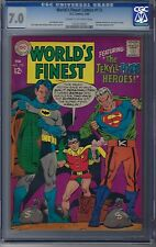 Worlds Finest # 173 CGC 7.0 1st Silver age Two-face Pre Dates Batman 234