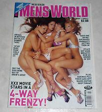 Mayfair MEN'S WORLD Magazine Vol. 12 #8 UK Stephanie Swift Devinn Lane KYLA COLE
