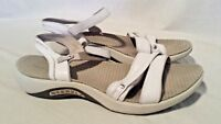 Merrell Dahlia White Leather Womens Sandals  Strappy Walking Casual Size 9
