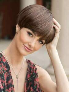 Blake Wig - Color Cherrywood - Rene of Paris Noriko - Straight Short Length