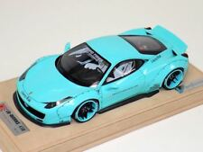 "1/18 Ferrari 458 Liberty Walk LB Performance in Tiffany Blue ""B"" N BBR or MR"