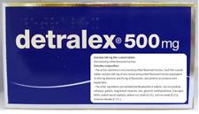 DETRALEX 500mg N120 Varicose Tired Swollen Heavy legs Hemorrhoids 120 tablets