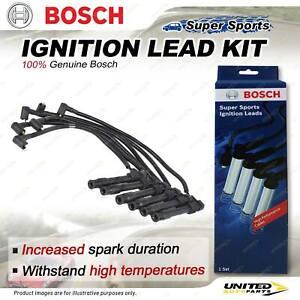 Bosch Ignition Lead Kit for Audi A4 B6 8E 8H 2.4 BDV V6 30V 2002-2005