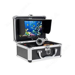 """Eyoyo Fish Finder 50M/165ft Underwater Fishing Camera 1000TVL 7"""" TFT LCD Monitor"""