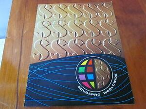 scuba vintage 1973 Scubapro catalog