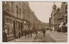 Kent postcard - High Street, Chatham showing the Empire - RP
