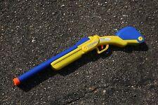 Buzz Bee Double Shot Shotgun Shell Dart Gun Old Style Cosplay Toy Blaster HTF