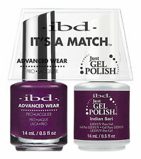 ibd It's A Match Advanced Wear Duo Just Gel & Polish Indian Sari 65367