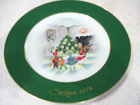 "Rare Vintage Christmas 1978 Eve Rockwell Collector 10"" Plate Limitted Edition"