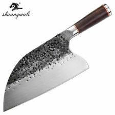 Hunters Serbian Chef Knife Steel Kitchen Knives Cleaver Forged phenomenal job XL