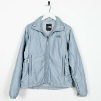 Vintage Women's THE NORTH FACE Quilted Coat Jacket Blue | Small S