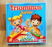 Jeux De Société Famille - Triominos Junior pour enfants - Goliath - complet