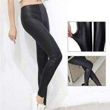 31d1e1d222d88d Faux Leather Leggings Women Leggins Thin Leggings Stretchy Leggins Sexy  Push fd