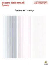 Techmod 1/32 WWI Lozenge cinta rayas en 3 Colores #32032