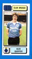 FOOTBALL 83 BELGIO Panini -Figurina-Sticker n. 87 - QUERTER - CLUB BRUGGE -New