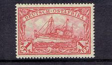 Deutsch-Ostafrika ** MiNr 38IIb Schiffe Kaiserjacht