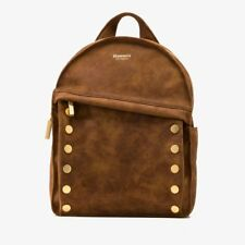 5985a9575ba749 Hammitt Shane Large Backpack Suede Leather Arches Buffed Brushed Gold Studs  NWT