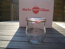 12 Stück Weck ® 220ml Tulpenform  / Einmachgläser / Einweckglas / Bonbonglas