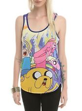 New Adventure Time Hot Topic Women's Racerback Tank Top Size Medium M