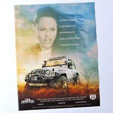 JEEP Wrangler / Advert Reklame Publicidad Pubblicita 4x4 Lara Croft Tomb Raider