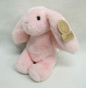 Animal Adventure Pink Bunny Rabbit Stuffed Plush