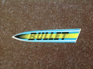 Authentic & Antique 70's Skateboard Sticker Bullet, New Old Stock