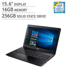 """NEW Acer Aspire F15 Laptop Notebook PC Computer 15.6"""" 16GB 256GB SSD 7th Gen i7"""