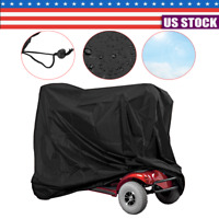 Waterproof Elderly Mobility Scooter Storage Cover Wheelchair Rain Protection