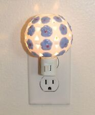 Ceramic Plug-in Night Light Home Decor Birthday Housewarming Good Sleep Safe~USA