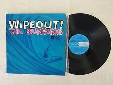THE SURFARIS WIPEOUT 1966 RARE MONO AUSTRALIAN FESTIVAL DL32086 RELEASE LP