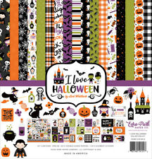 "New Echo Park 12"" X 12"" Collection Kit I Love Halloween"
