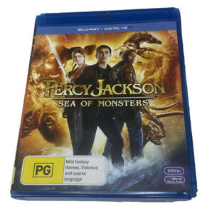 Percy Jackson - Sea Of Monsters Blu-Ray DVD Excellent Condition