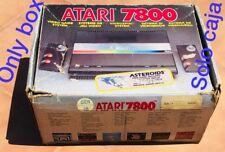 ATARI 7800 BOX (only - solo) CAJA Euro PAL