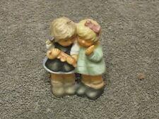 "Berta Hummel Figurine Goebel - 2 Little Girls - 1999 - Hanging Ornament 3"" Tall"