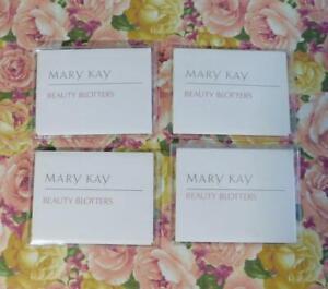 4 Packs Vintage Mary Kay Blotting Paper (Beauty Blotters) 100% Pure Linen