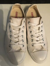 White Converse  Low Chuck Taylor Trainers Size 5