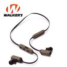 Walker's Game Ear Rope Hearing Enhancer Neck Worn with 3 Size Foam Tips Gwp-Rphe