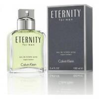 Eternity Cologne by Calvin Klein, 3.4 oz EDT Spray for Men NEW IN BOX
