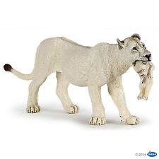 weiße Löwin mit Jungtier Papo 50203 Neuheit 2016