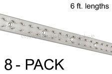 6 ft Rectangular Aluminum Load Track Tiedown - 8 Pieces