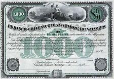 19__ Chile: El Banco Chileno Garantizador De Valores