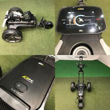 PowaKaddy FX7 GPS Gun Metal Electric Golf Trolley 18 Hole Lithium - NEW!