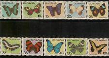 Guyana,Scott#279-286A,Butterflies,MNH,SG=  £25