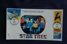 Star Trek Enterprise in Logo Stamp Combo Fdc Bullfrog Sc#5132 11563 W/1914,1916