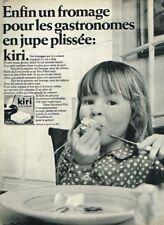 J- Publicité Advertising 1968 Le Fromage Kiri à la crème