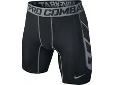 Nike Boys Pro Combat Hypercool Shorts Black/grey 13-15 Years